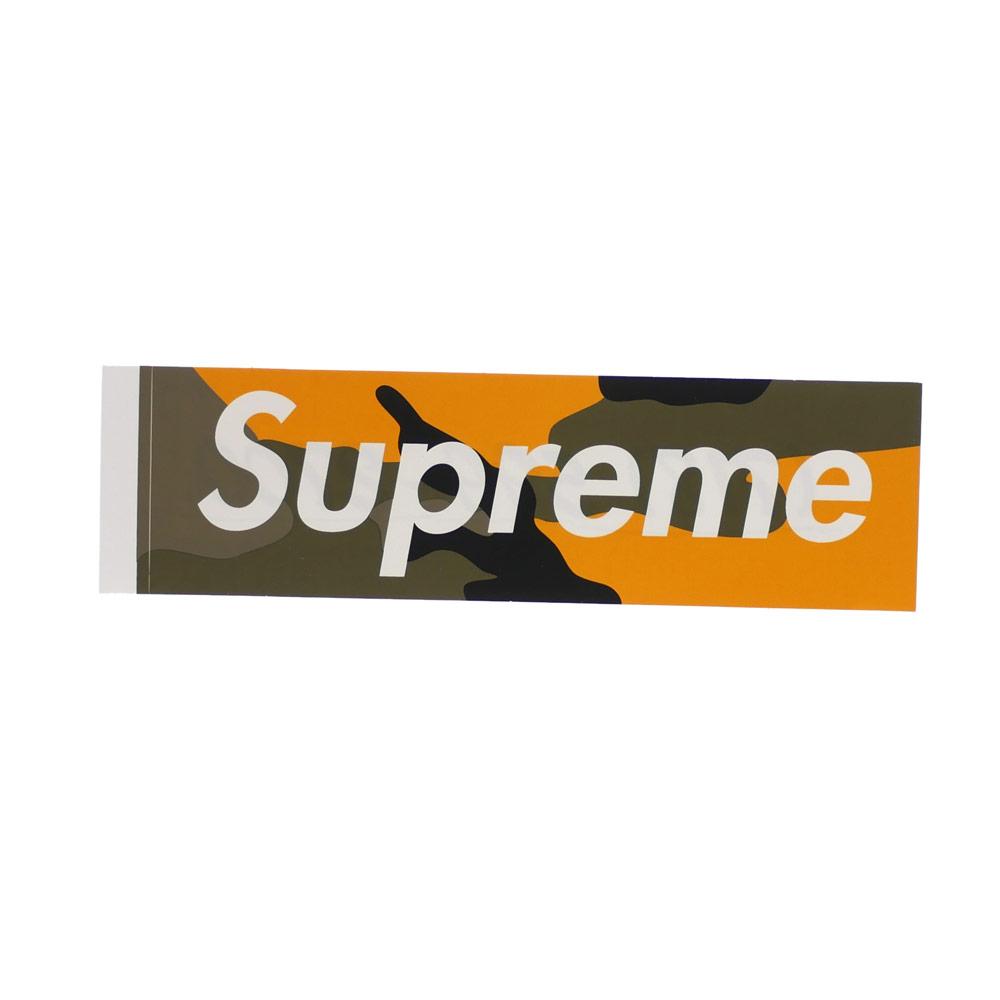 SUPREME(シュプリーム) Brooklyn Camo Box Logo Sticker (ステッカー) YELLOW CAMO 290-004546-118+【新品】