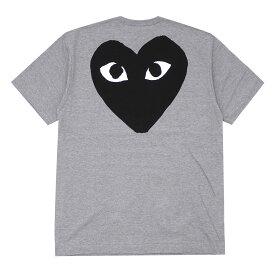 PLAY COMME des GARCONS プレイ コムデギャルソン BACK HEART TEE Tシャツ GRAY 200007725052 【新品】