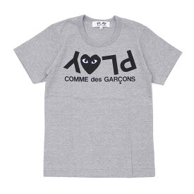 PLAY COMME des GARCONS プレイ コムデギャルソン LADY'S PLAY HEART LOGO TEE Tシャツ GRAY 200007733132 【新品】