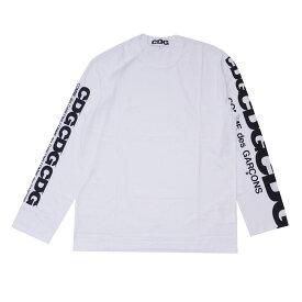 シーディージー CDG コムデギャルソン COMME des GARCONS CDG LS TEE 長袖Tシャツ WHITE ホワイト 白 メンズ 【新品】