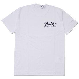 プレイ コムデギャルソン PLAY COMME des GARCONS MENS PLAY CHEST LOGO TEE Tシャツ WHITE ホワイト 白 メンズ 【新品】 200008018040