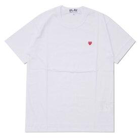 プレイ コムデギャルソン PLAY COMME des GARCONS MENS SMALL RED HEART TEE Tシャツ WHITE ホワイト 白 メンズ 【新品】 200008031030