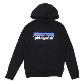 Patagonia パタゴニア P-6-Logo Uprisal Hoody ロゴ アップライザル フーディ パーカー BLACK ブラック 39539 211000623【新品】