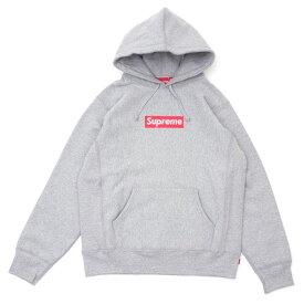 新品 シュプリーム SUPREME 25th Anniversary Box Logo Hooded Sweatshirt ボックスロゴ パーカー GRAY メンズ 新作 999006015