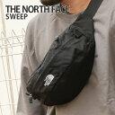 [期間限定特別価格]ザ ノースフェイス THE NORTH FACE NM71904 SWEEP スウィープ ウエスト バッグ ポーチ BLACK ブラ…