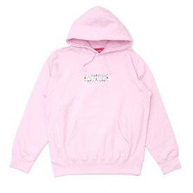 新品 シュプリーム SUPREME Bandana Box Logo Hooded Sweatshirt バンダナ ボックスロゴ フーディー スウェット パーカー PINK ピンク メンズ 新作