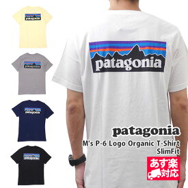 【14:00までのご注文で即日発送可能】 新品 パタゴニア Patagonia 19FW M's P-6 Logo Organic T-Shirt ロゴ オーガニック Tシャツ SlimFit 39151 メンズ 2019FW 新作