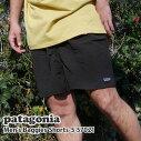 新品パタゴニアPatagoniaMen'sBaggiesShorts-5メンズバギーショーツBLACKブラック黒57021SS20メンズ新作