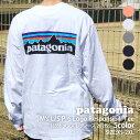 新品パタゴニアPatagoniaM'sL/SP-6LogoResponsibiliTeeP-6ロゴレスポンシビリ長袖Tシャツ38518REGULARFITレギュラーフィットメンズレディース新作