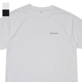 新品 モンベル mont-bell WICKRON T ONE POINT LOGO ウイックロン Tシャツ メンズ 新作 1114110 アウトドア 登山 キャンプ