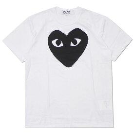 PLAY COMME des GARCONS プレイ コムデギャルソン MEN'S BLACK HEART TEE Tシャツ WHITE 200007921050 【新品】