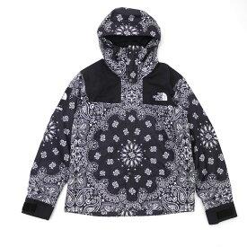 シュプリーム Supreme x ザ・ノースフェイス THE NORTH FACE 14FW Bandana Mountain Parka Jacket バンダナ ペイズリー BLACK メンズ Lサイズ 2014FW 130002921 (OUTER)