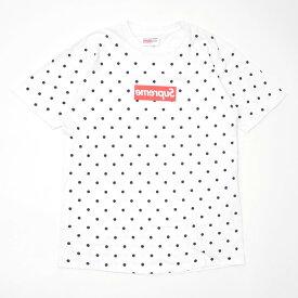 シュプリーム Supreme x コムデギャルソン シャツ COMME des GARCONS SHIRT Box Logo Tee ボックスロゴ Tシャツ WHITE ホワイト メンズ Lサイズ 104002226 【中古】 (半袖Tシャツ)