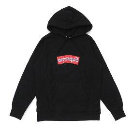 シュプリーム Supreme x COMME des GARCONS SHIRT コムデギャルソン シャツ Box Logo Hooded Sweatshirt フーディー スウェット パーカー BLACK ブラック メンズ Sサイズ 【中古】 111001443 (SWT/HOODY)