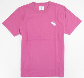 Abercrombie & Fitch アバクロ ビンテージ加工 BIG ビッグムース Tシャツ ピンク 249