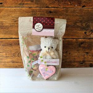 くまちゃんアイシングクッキーギフト プチギフト プレゼント 焼き菓子 サンキュー チョコクッキー 可愛い クマぬいぐるみ オリジナルギフト ギフト