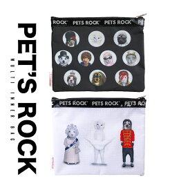 新作 ペッツロック PETS ROCK バッグ ポーチ レディース 化粧ポーチ ビッグポーチ バッグインバッグ メール便送料無料