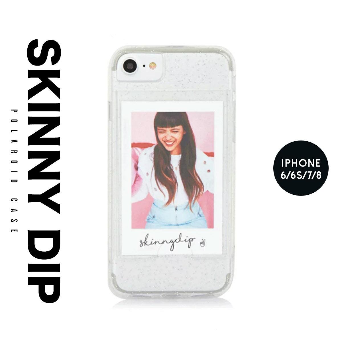 iPhone8 iPhone7 iPhone6 6s アイフォン カバー ケース skinnydip スキニーディップ ポラロイド 写真 スマートフォン スマホ メール便 送料無料