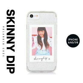 iPhone8 iPhone7 iPhone6 6s アイフォン カバー ケース skinnydip スキニーディップ ポラロイド 写真 スマートフォン スマホ メール便 セール