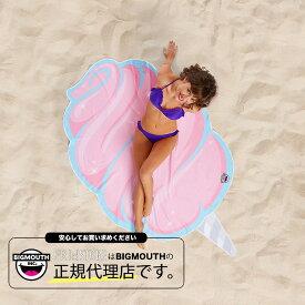 ラウンドタオル 大判ビーチラグ コットンキャンディー BIGMOUTH ビッグマウス ビーチ THE BEACH PEOPLE 海 フェス ヨガマット ブランケット アメリカ セール