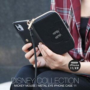 スマホケース ディズニー iPhone11 ケース カバー レディース アコモデ ミッキー メタル ブランド 大人 可愛い プレゼント ギフト メール便 送料無料