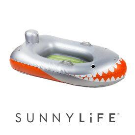ボート 浮き輪 サメ 海外品 マリンスポーツ フロート サニーライフ プール ビーチ 海水浴 持ち運び アウトドア インスタ映え