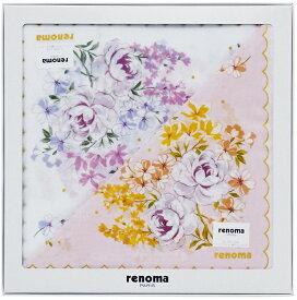レノマ Renoma 婦人ハンカチ2枚セット REL10050 ブランド/レディース/ハンカチ2P/ギフト