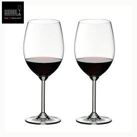 リーデル ペア 赤ワイングラス (6448/0)2個入り【RIEDEL/正規品/ブランド/ギフト/ワイングラスセット/レッドワイン/2P】