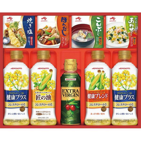 味の素 バラエティ調味料ギフト CSA-30F 【調味料詰合せ/サラダオイル/食用油/ヘルシーオイル/オリーブオイル/だしの素/ギフトセット】