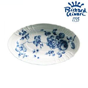 リチャードジノリ ローズブルー ピクルスオーバル(B014700)【Rechard Ginori/ブランド/洋食器/ギフト/プレート/中皿/楕円皿】