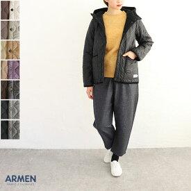 【送料無料】ARMEN(アーメン)リバーシブルキルティングジャケット