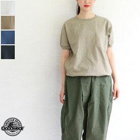 【ゆうパケット対応】GOODWEAR(グッドウェア)リブデザイン半袖胸ポケットTシャツ