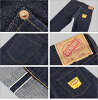 ■ DENIME(dunimu 66型号·无洗涤)(66个类型/66前期型/牛仔裤)5011-0015-NW(日本制造)乐天Rakuten超级市场SALE