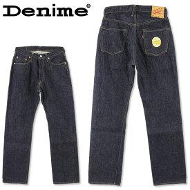 DENIME (ドゥニーム) XX MODEL (W31〜W34inch)[DP15-001](やや太めのストレート/ワンウォッシュ/日本製/デニム/JEANS/メンズ/セルビッチ)
