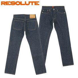 ■ RESOLUTE(リゾルト 66 ローライズモデル) [713-94][28〜34inch] (ワンウォッシュ)(日本製/ジーンズ/66モデル/66 Low JEANS/林さん)