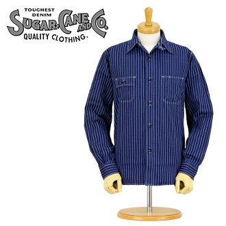 ■ 沃巴什条纹 8.5 盎司糖蔗甘蔗) SC25551A WA クシャツ ▼ !▼
