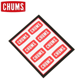 ■ CHUMS(チャムス) CH62-0089(CH620089) CHUMS Logo Mini Sticker (チャムスロゴ ミニステッカー) 【ゆうメールなら送料→90円】