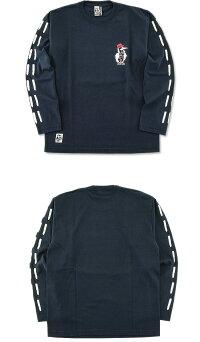 CHUMS(チャムス)東北限定CHUMS×OUTDOORMONSTERブービーバード長袖Tシャツ[CH01-1620](長袖/Tシャツ/ロンT/プリント/アウトドア/メンズ/レディース)【ゆうメールなら送料→180円】