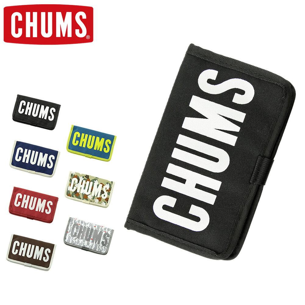■ CHUMS (チャムス) 手帳型 スマホケース [CH60-2426] エコ CHUMS ブックレット モバイルケース (iPhone7 Plus/iPhone6 Plus/Xperia XZ/小物入れ/スマホ ケース/カバー/カードホルダー)【ゆうメールなら送料→180円】