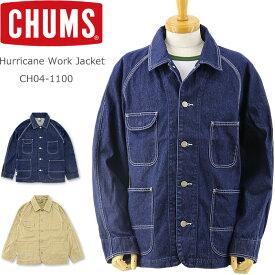 CHUMS (チャムス) ハリケーン ワークジャケット [CH04-1100] (デニムジャケット メンズ レディース おしゃれ アウトドア アウター)