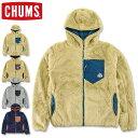 CHUMS (チャムス) ボンディング フリース ジップ パーカー [CH04-1241](フリース パーカー メンズ レディース おしゃれ かわいい アウトドア アウター ボア) 【SALE セール