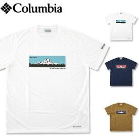【SALE セール】コロンビア (COLUMBIA) ムース アベニュー ショートスリーブ Tシャツ [PM0172](半袖Tシャツ 半袖 Tシャツ 吸水速乾 アウトドア スポーツ フェス 登山 メンズ レディス)【ゆうメール 送料180円】