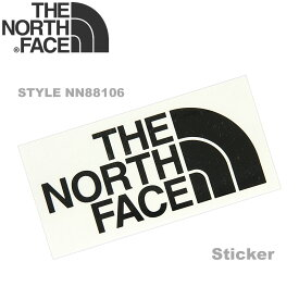 THE NORTH FACE (ザ ノースフェイス) TNF カッティング ステッカー [NN88106] (アウトドア ロゴ ステッカー シール) 【ゆうメールなら送料→90円】