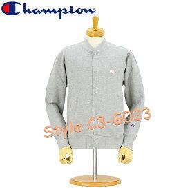 CHAMPION (チャンピオン) [C3-G023] 裏毛 スナップ スウェットシャツ (全3色)(スウェット/パイル/スタジャン/メンズ/おしゃれ/無地/シンプル)【SALE セール】