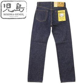 児島ジーンズ (KOJIMA GENES) 15oz セルビッジ デニム レギュラーストレート ジッパーフライ モデル[RNB-102RZ] (ワンウォッシュ/日本製/岡山 児島/アメカジ/メンズ/JEANS/RNB102RZ)