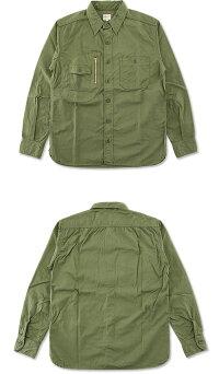 桃太郎ジーンズ(MOMOTAROJEANS)リップストップシャツ[05-191](長袖ワークシャツ長袖シャツおしゃれ日本製メンズももたろうモモタロウ)