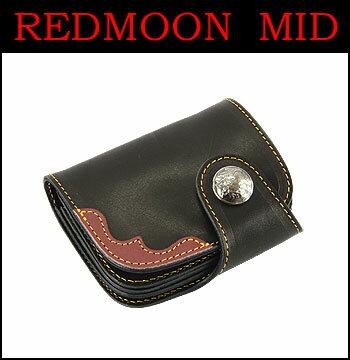 ■ REDMOON (レッドムーン・ミッド) HR-01CE-MID 【イーグル・鷲】 ☆ 2 トーン・ショートウォレット(財布)☆ (日本製)