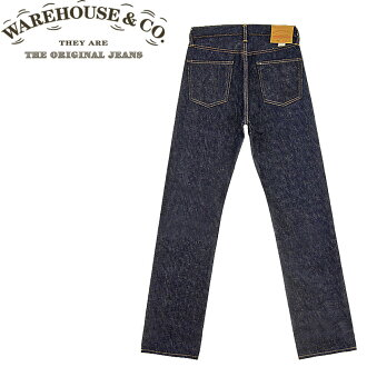 ■ WAREHOUSE (Warehouse) [800-NW] Standard straight jeans (JEANS / Denim) (Non Wash / Rigid) (Made in Japan)