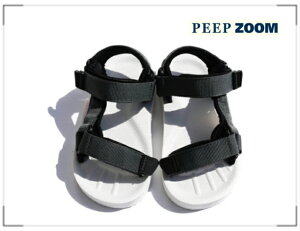 ZOOM(ズーム) Velcro Sandalベルクロサンダル 1747【15cm~22cm】【グレー】