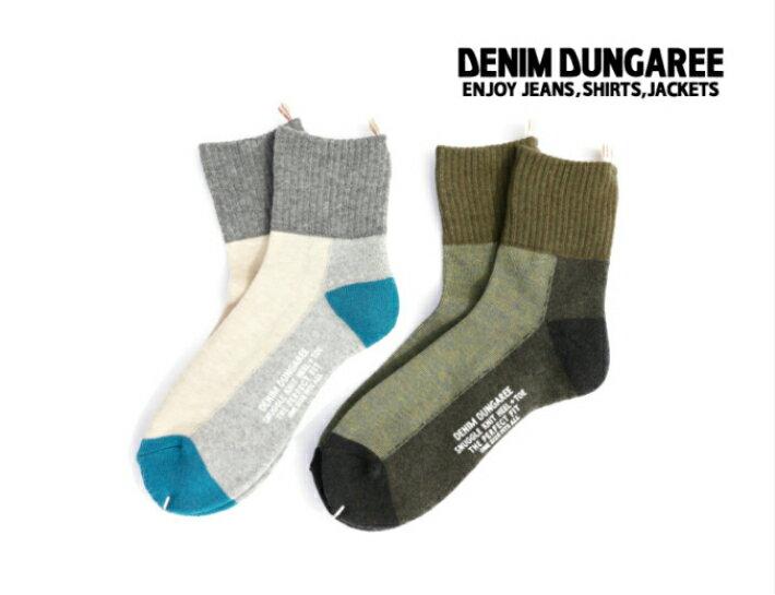 2019S/S DENIM DUNGAREE デニム&ダンガリー 9920034DD STANDARD SOX【LL(22-24)】【9 カーキ】【91 クレイジー】